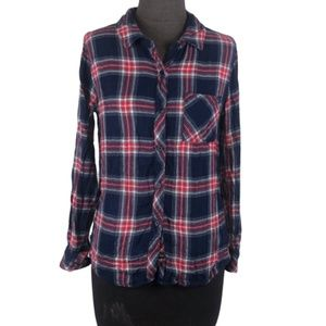 Rails Flannel ButtonUp Size Small Red Navy